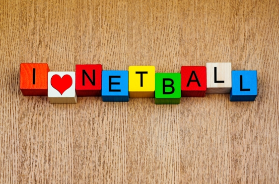 I love netball - sign for sports